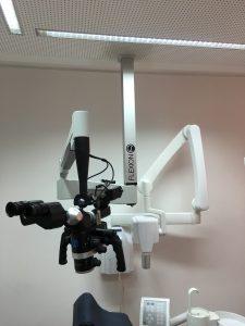 Flexion Dentalmikroskop Deckenmontage ohne Abdeckung