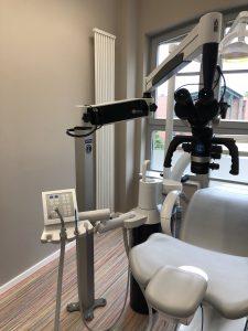 Flexion Dentalmikroskop Bodenmontage