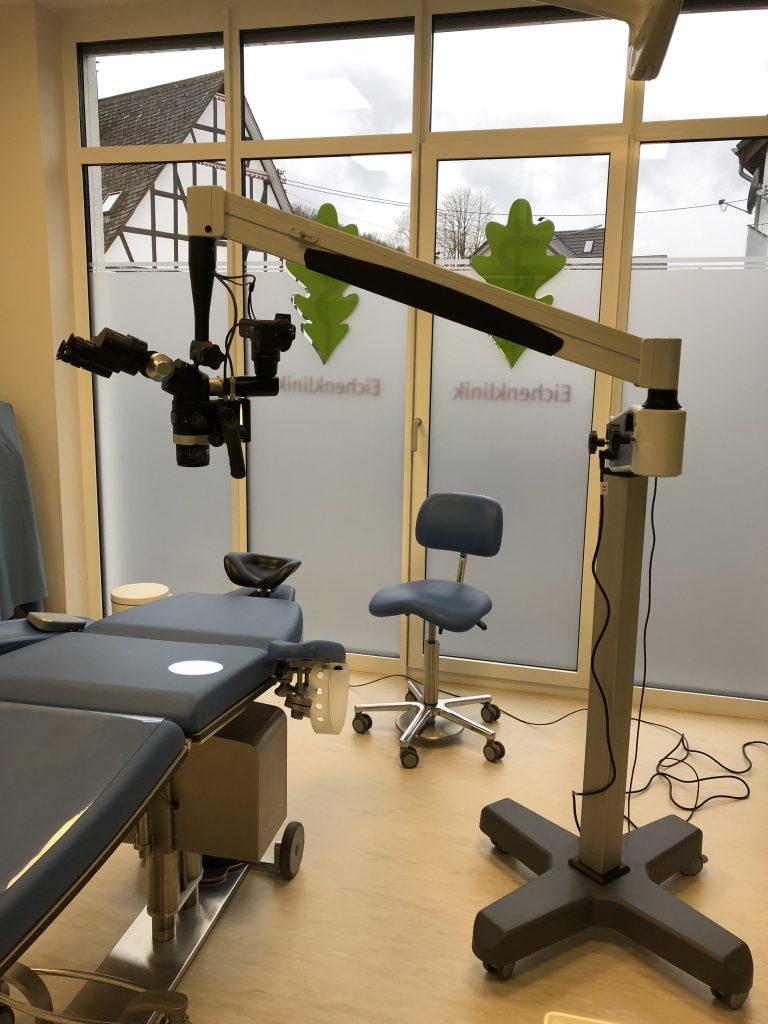 Flexion Dentalmikroskop Rollstativ